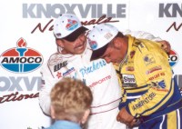 "Donny Schatz and Danny ""The Dude"" Lasoski in Knoxville"